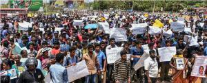 Sri Lanka's Tamil Areas Came to a Standstill – Tens of thousands rally Opposing Extension of Time to Sri Lanka at UNHRC