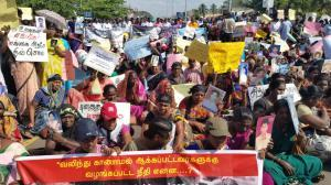As UNHRC meets: Massive Protest & Shutdown by Tamils in Sri Lanka Against Giving Extension of Time for War Crimes Probe
