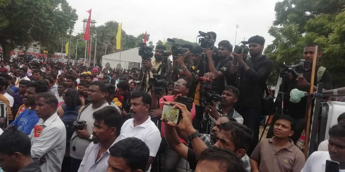 Sri Lanka: Thousands Rally in Jaffna For Tamil's Rights – Calls for Referendum For Political Solution !