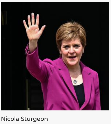 TGTE Congratulates Nicola Sturgeon, the leader of the Scottish National Party(SNP) for her impressive electoral victory